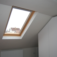 Velux window in a Bristol loft conversion